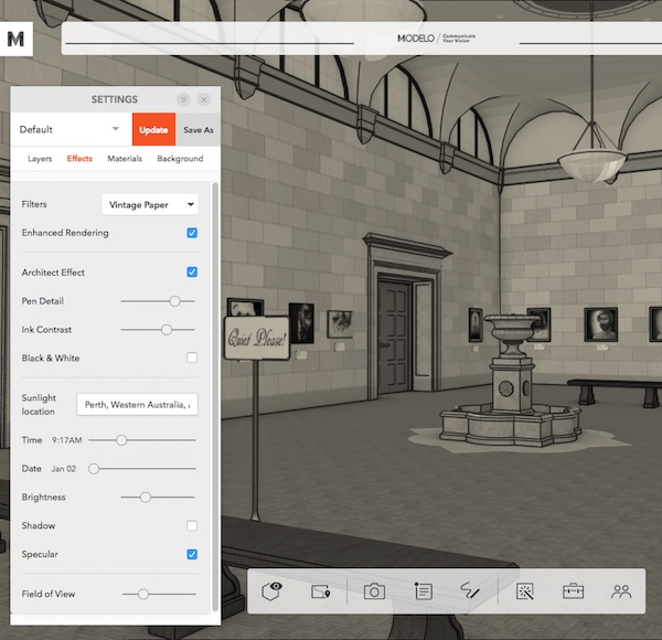 Sketchup Training Perth - Modelo Screenshot